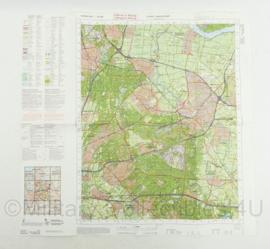 Defensie topografische kaart 32 West Amersfoort - schaal 1 : 50000 - 57 x 59,5 cm - origineel