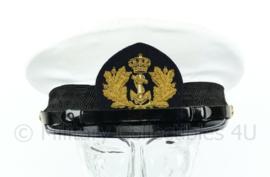 Koninklijke Marine platte pet hoofdofficier- Bancrofts Hassing b.v.  - maat 59 - Origineel