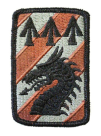US Army Foliage patch - 3rd Sustainment Brigade - met klittenband - voor ACU camo uniform - origineel