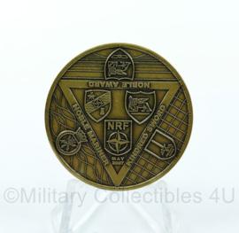 Defensie coin 1 NL GE Corps Headquarters - origineel