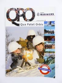 Korps Mariniers tijdschrift Qua Patet Orbis QPO 2014 nummer 1 - 115 pagina's - 29,5 x 21 x 1 cm - origineel