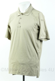 5.11 TACTICAL PERFORMANCE SHORT SLEEVE POLO coyote  Maat S  - origineel