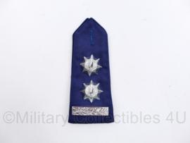 Gemeentepolitie epaulet Hoge rang  - Rang Hoofdinspecteur, ambtenaar 1e klasse - 1 enkele epaulet - origineel