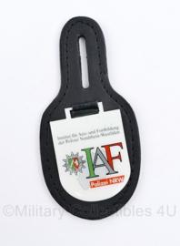 Bundespolizei borsthanger  Nordrhein Westfalen IAF - 9,5 x 4,5 cm - origineel