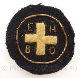 EHBO Eerste Hulp Bij Ongelukken embleem - doorsnede 4,5 cm - origineel