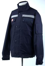 DB winterjas met voering en reflectie - donkerblauw - Medium of Large - nieuw - origineel