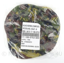 KL WOODLAND helmovertrek voor helm - maat medium - nieuw in de verpakking - origineel