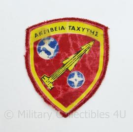 Grieks leger embleem - 7,5 x 6 cm - origineel