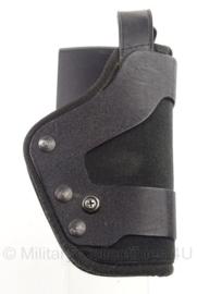 US Politie Military en Police Uncle Mike's Pro-3 Slimline Kodra Sidekick holster modern - zwart - origineel