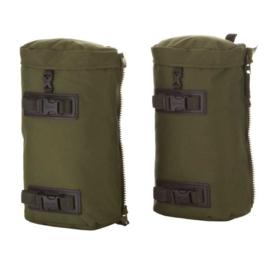 KL Nederlandse leger MMPS Pockets MMPS Berghaus zijtassen set voor grote rugzak - groen - inhoud 10 liter per stuk - NIEUW origineel
