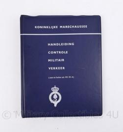 Kmar Koninklijke Marechaussee handleiding controle militair verkeer - VS 19-4 - origineel