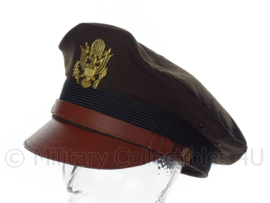 US Army Air Force USAAF crusher cap Chocolate - maat 57 of 58 cm.