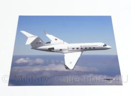 KLu Luchtmacht kunststof foto FOTOVLUCHT Vliegbasis Soesterberg - 40 x 30 cm - origineel