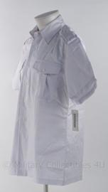 """KM Koninklijke Marine """"Tropenwit"""" overhemd korte mouw tenue 16, 'badman' - maat 40 - ONGEDRAGEN - origineel"""