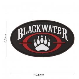 Embleem Blackwater - Klittenband - 3D PVC - 10,8 x 6,3 cm.