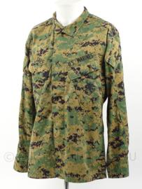 USMC US Marine Corps Marpat BDU camo jas met insignes - maat Small-regular - origineel