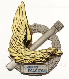WW2 Italian ITALIAN GRUPPO AEROSILURANTE FAGGIONI Distintivo A.N.R. Gr. Aerosiluranti Faggioni Gruppo Faggioni badge  in geschenk- of displaydoosje