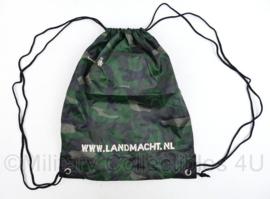 Rugzak www.Landmacht.nl Woodland promotie - 43 x 34 cm - origineel