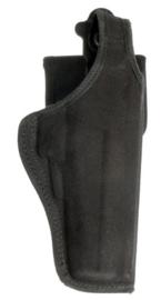 US Army open Bianchi size 15 zwart Cordura holster rechtshandig - origineel