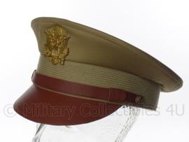 Visor cap US khaki - 58 of 60 cm.