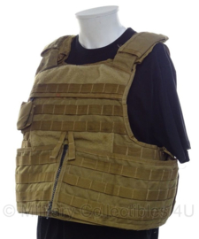 US Army Paraclete Tactical Body Armour kogelwerende vest hoes - Coyote - maat Large - origineel