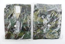 Korps Mariniers Eritrea Missie Jungle Woodland jas en broek - nieuw in de verpakking - Medium Regular - origineel