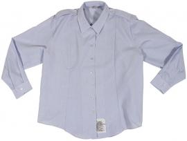 US Army dames blouse lichtblauw - Shirt Woman's lange mouw - nieuw in de verpakking  - origineel