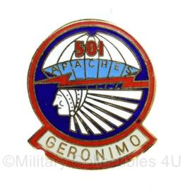 US 501 Parachute Infantry regiment Geronimo speld - 2,5 x 3 cm