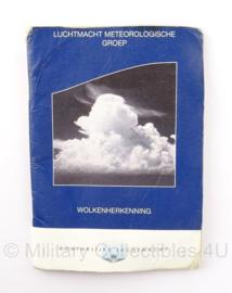 KLu Luchtmacht Wolken herkennings boekje - Origineel