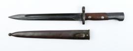 Tsjechische bajonet VZ24 voor het K98 geweer - zeer goede staat - 40 cm - origineel