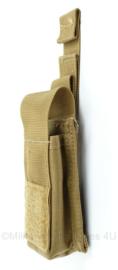 KL Nederlandse leger en Korps Mariniers MOLLE magazijntas - nieuw - Profile Equipment - Coyote - 20 x 6 x 2,5 cm - origineel