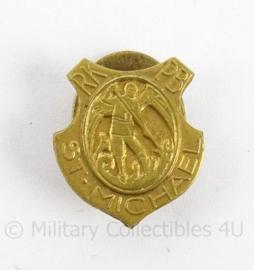 Knoopspeld Politiebond St. Michael RKPB St Michael - afmeting 1,5 x 2 cm - origineel