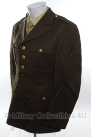 US Officer Class A jas 1942 - size 38 R = 48 normaal - origineel WO2
