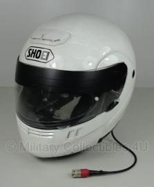 Britse politie motor systeemhelm - merk Shoei nr. 12
