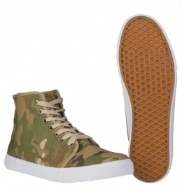 Army Sneakers met Multicamo print