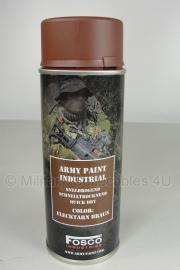 Spuitbus verf Fosco 400ml - Flecktarn bruin