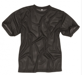 Shirt vochtregulerend warm weer - Zwart