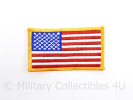 US Army uniform vlag full colour - 9 x 5 cm -  origineel