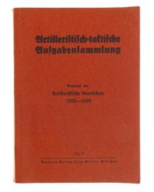 WO2 Duits handboek artilleristische rundschau 1935-1938 - 1940 - origineel