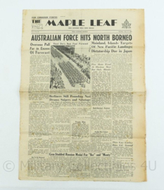 Krant Maple Leaf - 12 June 1945 -  origineel