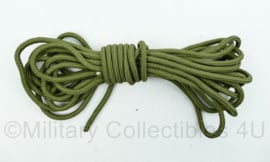 Nederlands leger touw - 6  mm dik en 9,6 meter lang - nieuw - origineel