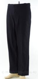Universele zwarte broek - maat XL - origineel