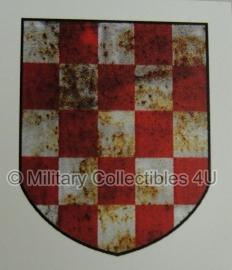 Kroatische-Freiwilligen-Division 369e regiment decal - cv-003