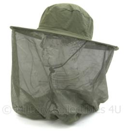 Leger anti-Muggen hoofdnet Deluxe - one size - origineel
