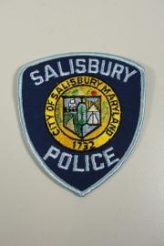 Salisbury Police patch  - origineel
