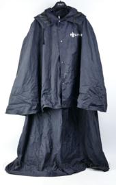Politie zeldzame dames regenjas voor politie te paard, ruiter regenjas - maat L - origineel