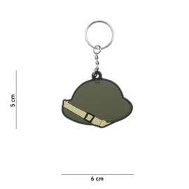 Sleutelhanger 3D PVC - WW2 Brody Turtle helmet