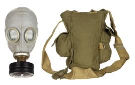 Russische leger GP5 gasmasker met (modern) filter en tas - origineel