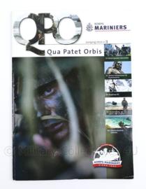 Korps Mariniers tijdschrift Qua Patet Orbis QPO 2014 nummer 3 - 123 pagina's - 29,5 x 21 x 1 cm - origineel