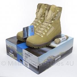 Meindl Desert Fox Pro - khaki schoenen hoog model - nieuw in de doos - maat 6,5 = maat 40